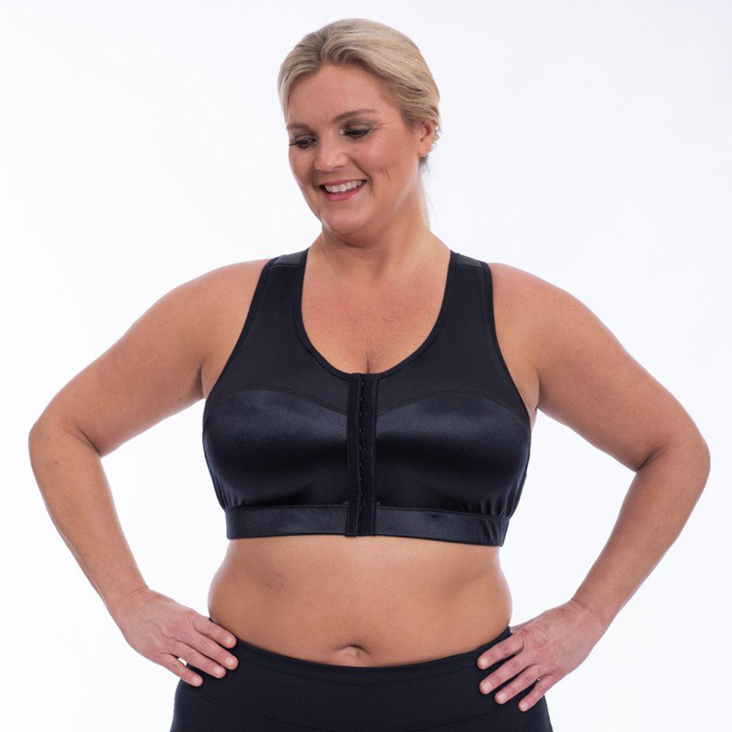 Enell Racer Sports Bra - Black
