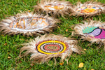 Land Signals - Natural Wood and Emu Feathers