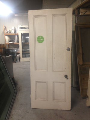 Solid Native Wooden Door #456