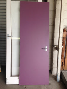 Purple And White Door #612