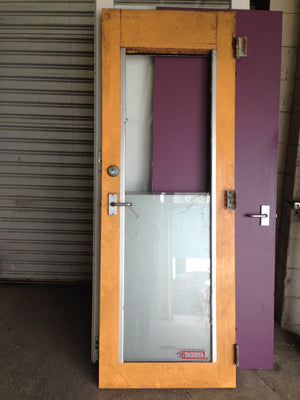 Glass Door With 2 Panes #613