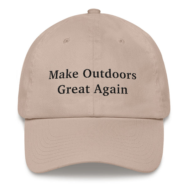 Make Outdoors Great Again Dad Hat - ancille