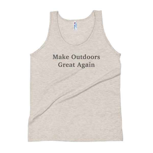Make Outdoors Great Again Unisex Tank Top - ancille