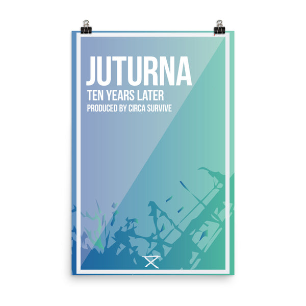 Juturna Remixed Ten Year Anniversary Tour Poster - ancille