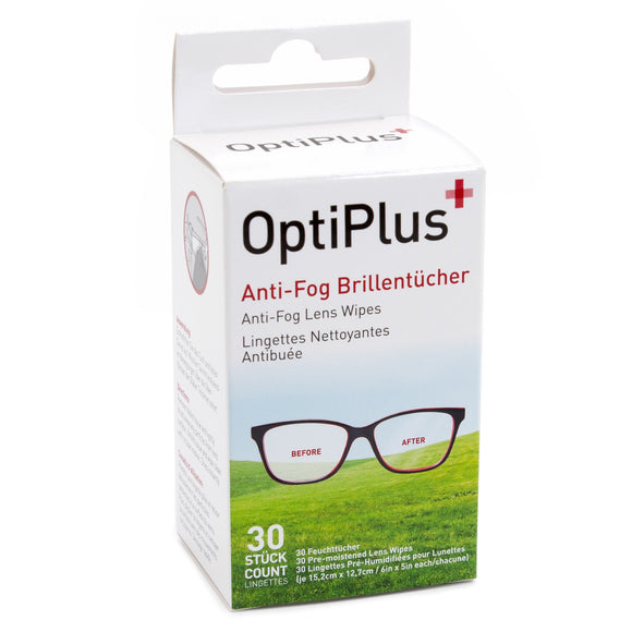 Anti-Fog Brillentücher OptiPlus