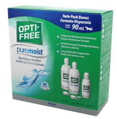 OptiFree Puremoist (2 x 300ml 90ml)