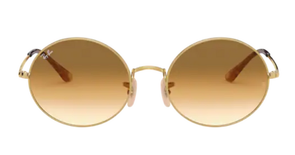 Ray Ban Oval Gold 1970