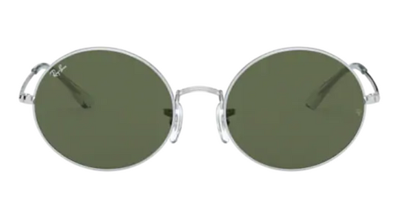 Ray Ban Oval Silver 1970