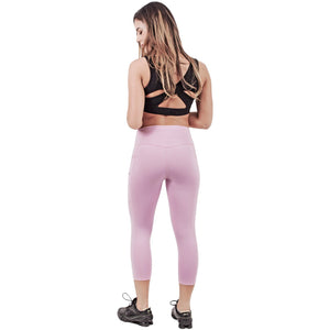 FLX Activewear 944066 Active Tummy Control Capri for Women | Lycra