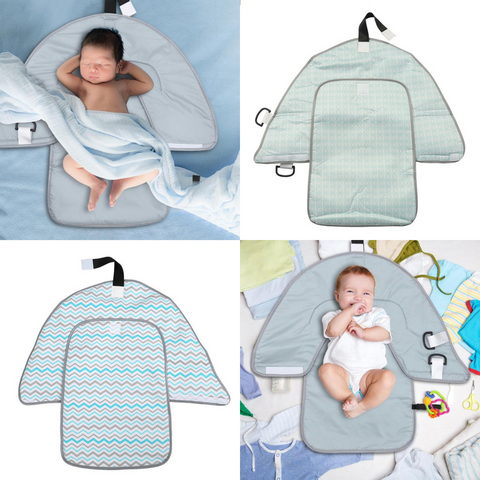 Changing Pad in Use