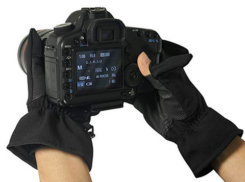 Photography Anti-Skid Gloves
