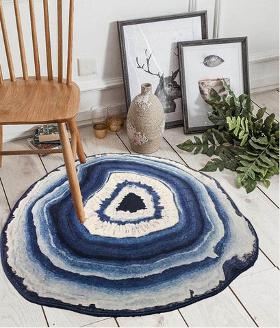 Blue Agate Small Rug
