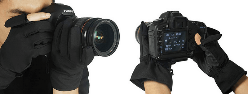 Sensory Gloves - Anti-Skid Camera Gloves - Westello