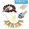 MyBeads™ - 16pc Wooden Bead Maker - Westello