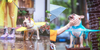 Rainfall Puppy Ring - Personal Dog Umbrella - Westello