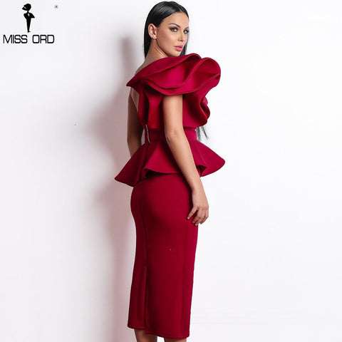 Women Sexy Dress Bodycon Off Shoulder 2019