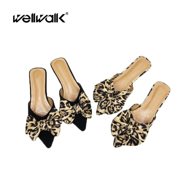 New Leopard Flat Slipper