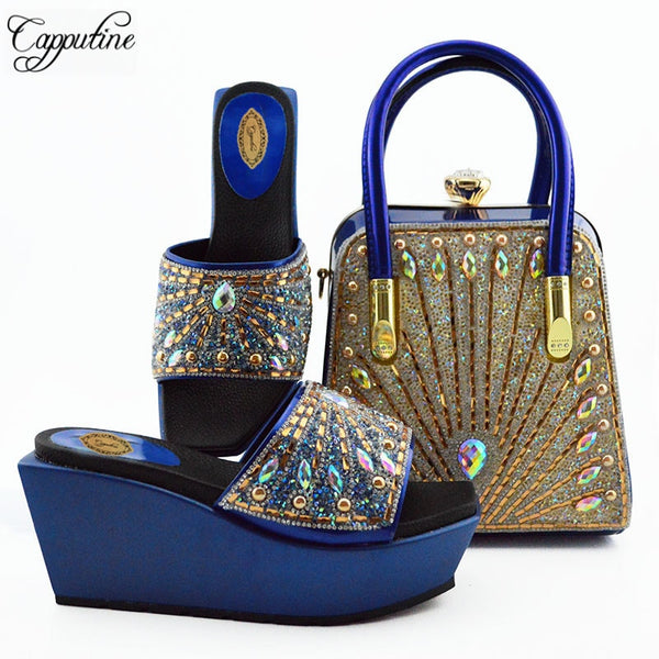 Elegant Shoes And Purse Bags Italian Party