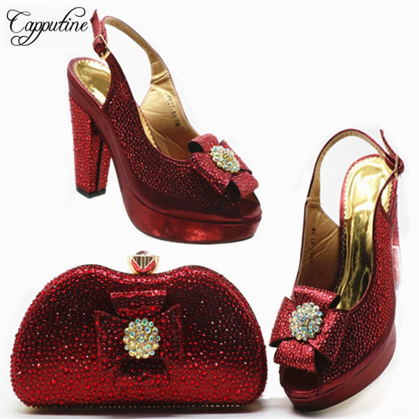 New Italian Style High Heels And Bags