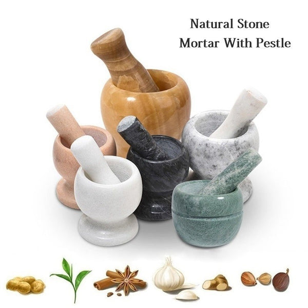 Natural Stone Mill Garlic Crusher