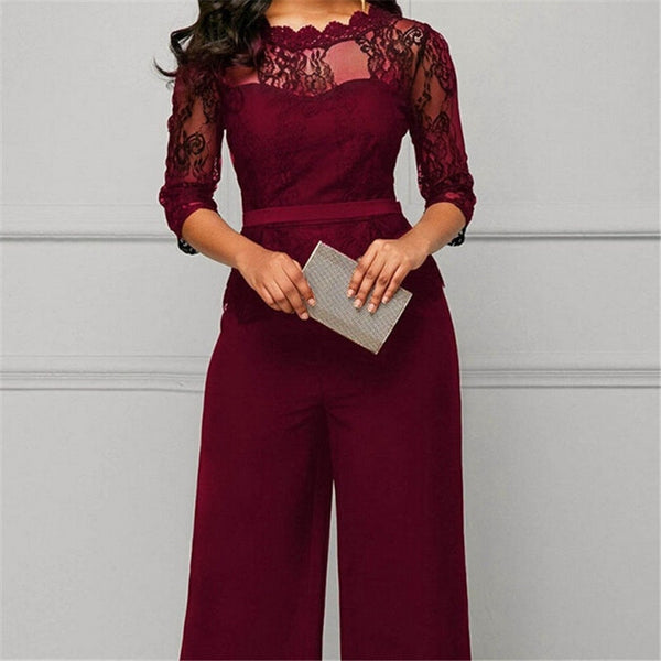 Elegant Jumpsuits Long Sleeve