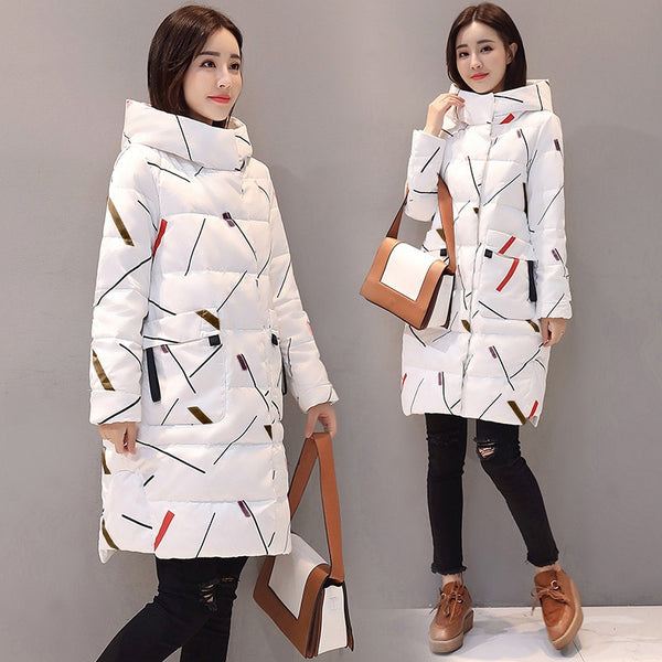 Elegant Long Sleeve Warm Office Lady Jacket