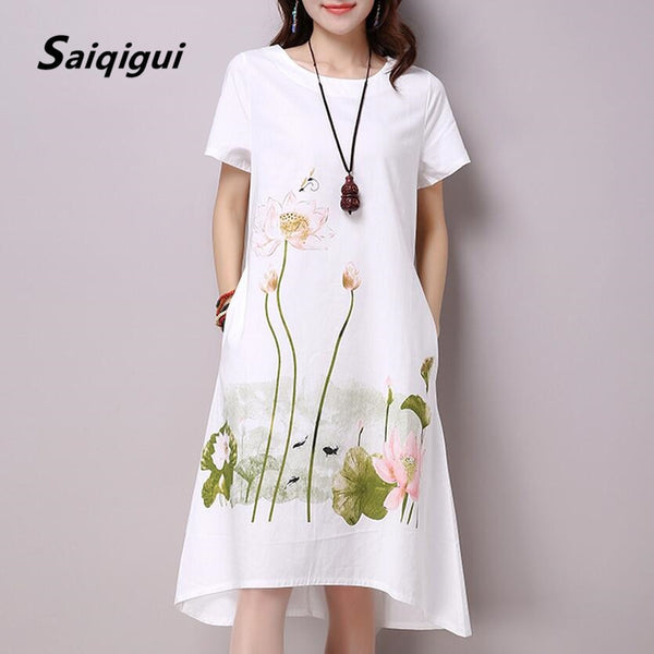 Summer Dress Short Sleeve dress