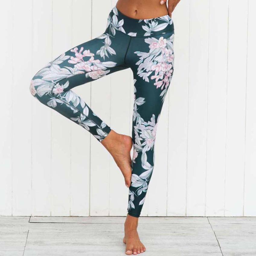 Women Legging Yoga Gym Workout 3D Print Fitness Lounge Athletic Pants
