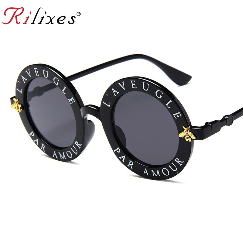 Round Shades Sun Glasses