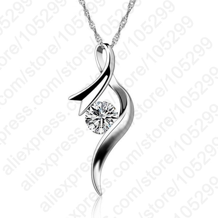 Europe Style Women Necklace Sterling Silver
