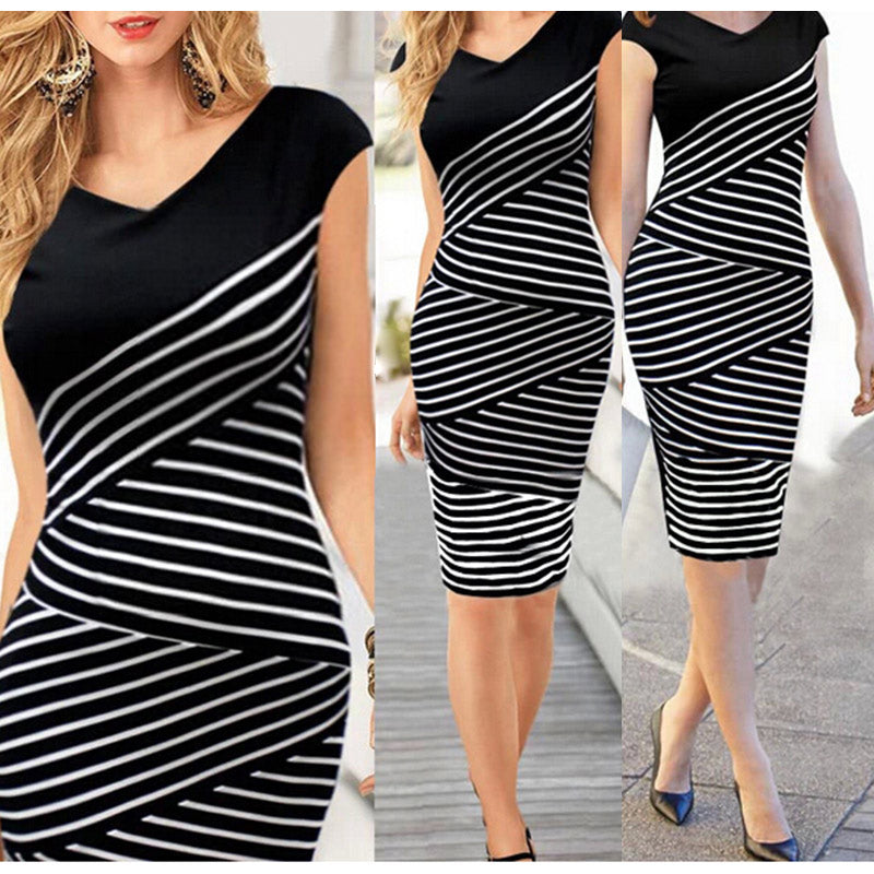 women dress Office Formal Bodycon