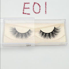 211fe5090ce ... Handmade Eyelashes 3D Mink Lashes natural soft lashes long false eyelash  ...