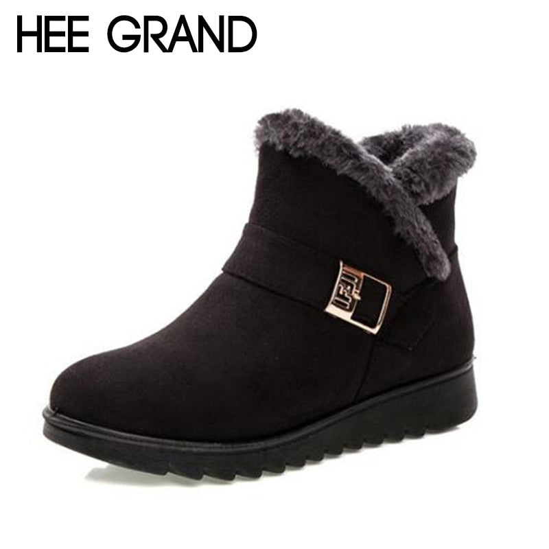 Women Warm Ankle Boots