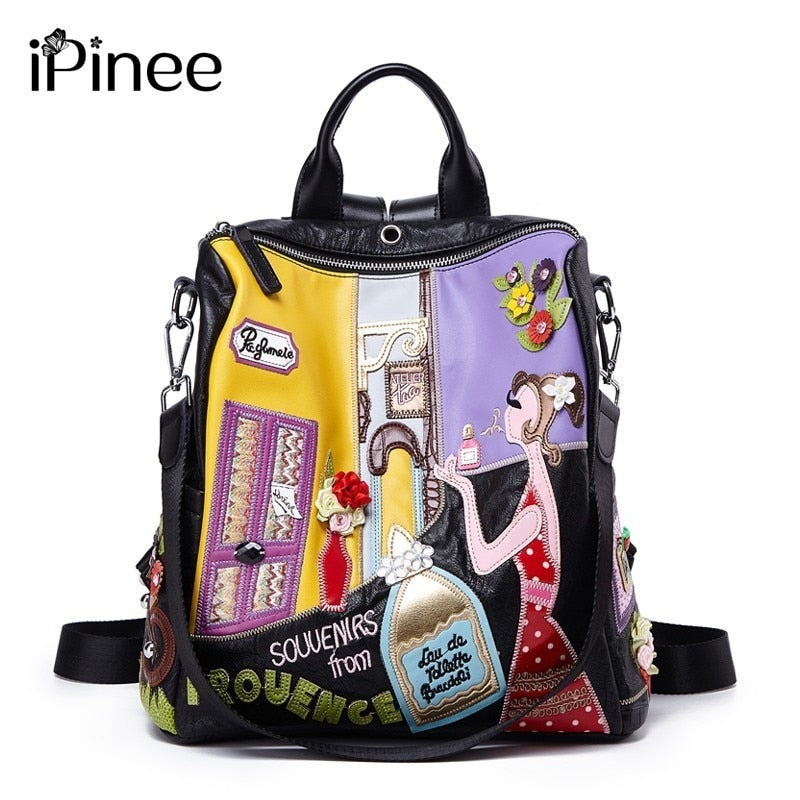 Cute Women Backpack Fashion Causal High Quality