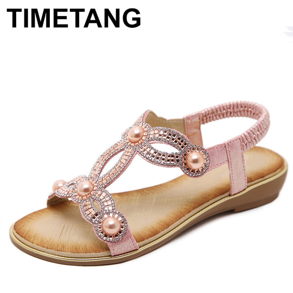 Cute Casual Summer Women Sandals Flower 2019