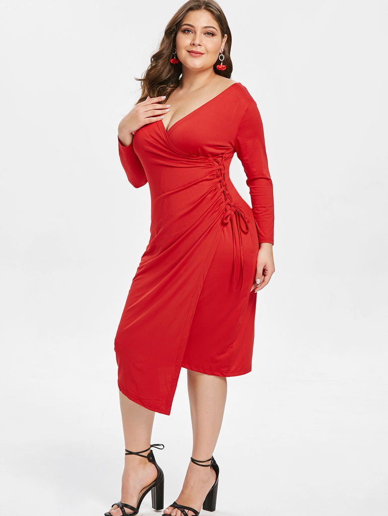 Big Size Women Evening Dress