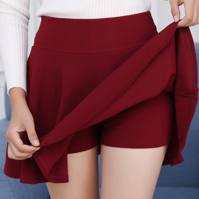 Mini Skirt Women Plus Size High