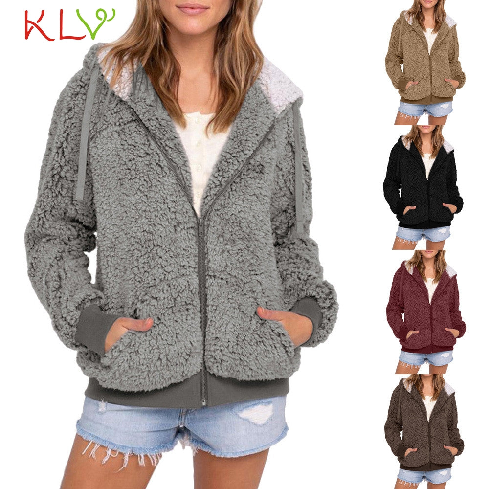 Women Jacket Hooded Sweater