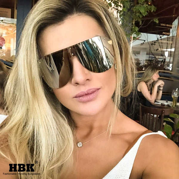 Sexy Rimless Fashion Sunglasses