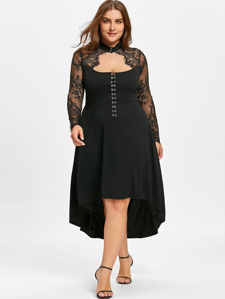 Women Spring Lace Dress