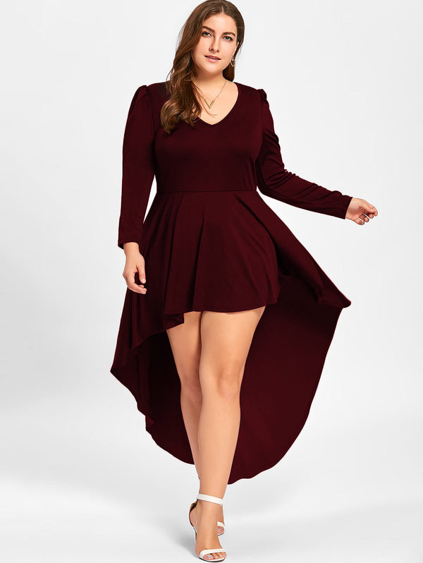 Plus size Spring Party Dress