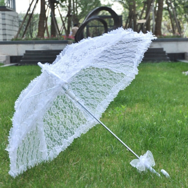 Lace Cotton Wedding Umbrella