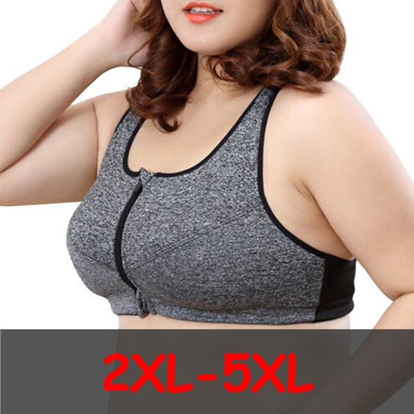 Yoga Plus Size Gym Bra