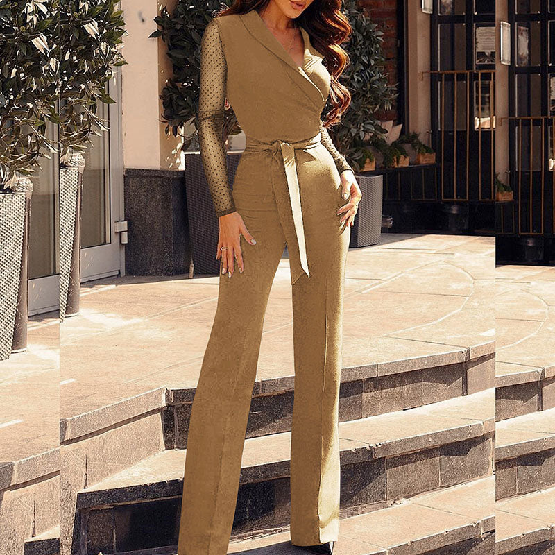 office party work wear Jumpsuit