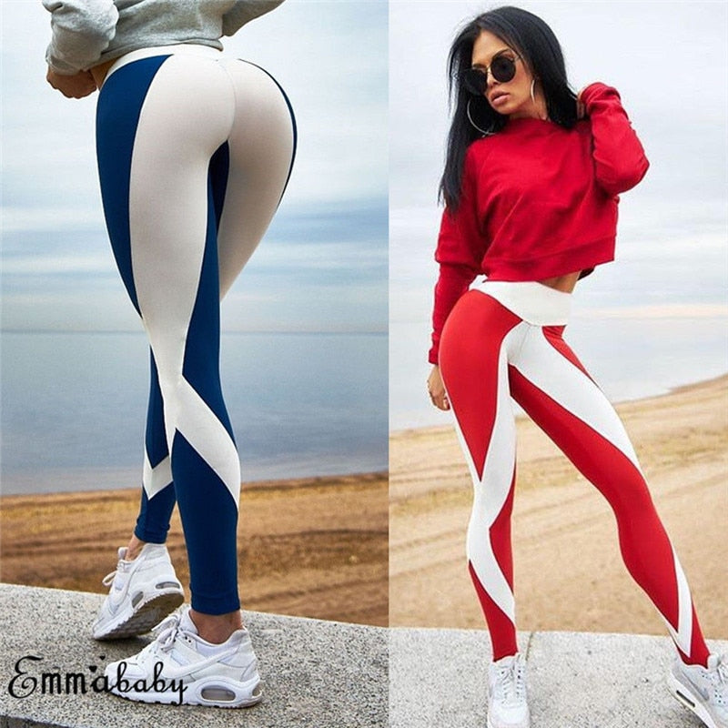High Waist Yoga Leggings Fitness