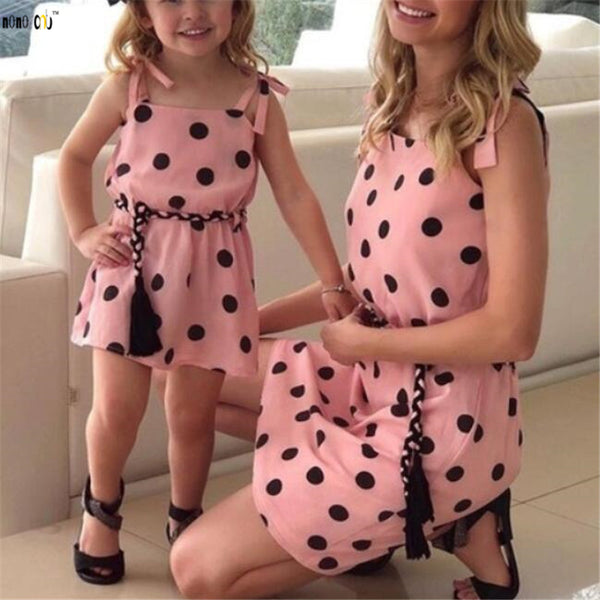 Family Match Outfits Dress