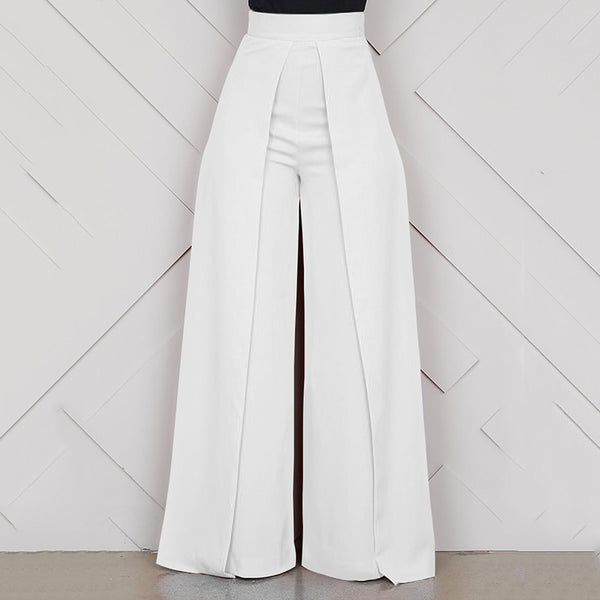 High Waist Baggy Wide Leg Pants