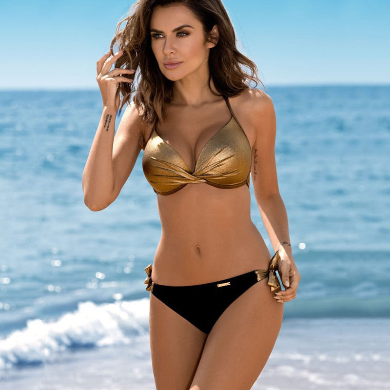Sexy Swimwear Push up Bikini Set Beach Wear