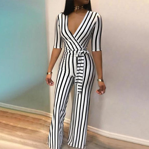 Wide Leg Jumpsuit Work wear Fashion
