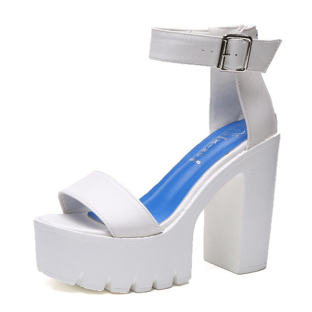 High Heels Open Toe Sandal
